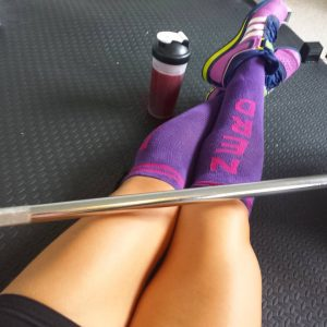 Fitness nerd Barbell socks