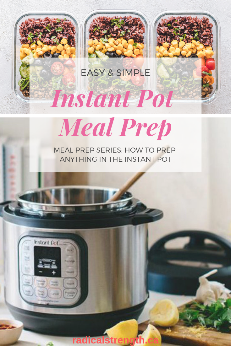 Look no further for all of your PROTEIN MEAL PREP needs! Use your INSTANT POT to quickly and efficiently prep all of your protein for meals. Recipes, instructions, meal ideas, seasoning recipes, serving tips and MORE! #instantpot #pressurecooker #mealprep #instantpotmealprep #macros #protein #healthy #fitness