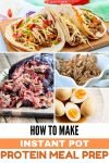 Healthy Instant Pot Meal Prep