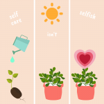 self-care isn't selfish, it's necessary for health and wellbeing #selfcare #selflove #mentalhealth #stress #anxiety #goals #productivity