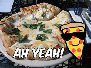 white pizza buzzfeed quiz result