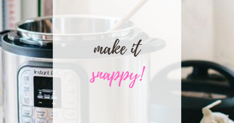 How to Meal Prep Anything Using the Instant Pot: Protein Edition