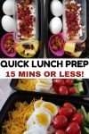 quick meal prep lunch ideas