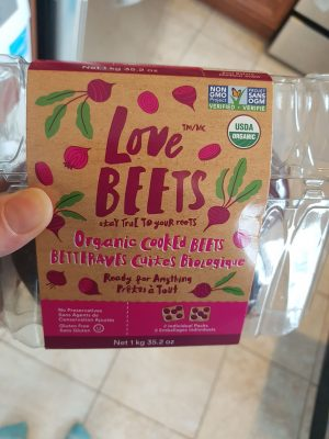 Love Beets precooked beets