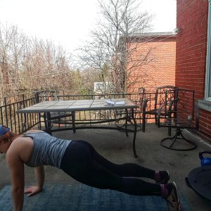 plank for core strength