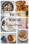 what I ate wednesday food diary week three