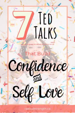 TED Talks on confidence and self esteem