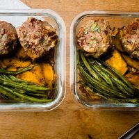 mini meatloaf meal prep