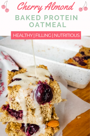 baked protein oatmeal pin