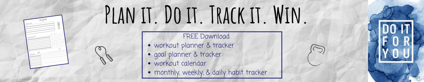 workout planner and tracker for habits goals fitness motivation