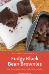 black bean brownies pin