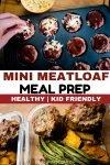 mini meatloaf meal prep