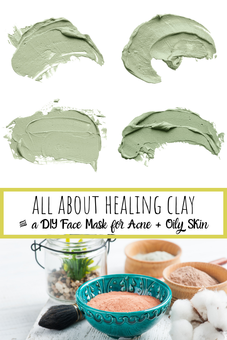 diy face mask for acne and oily skin pin