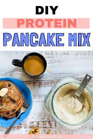protein pancake mix recipe