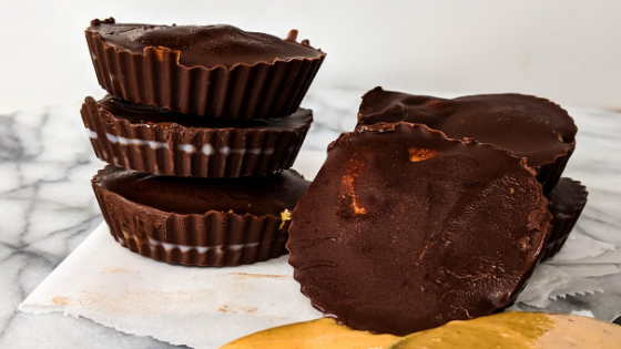 chocolate peanut butter cups recipe picture
