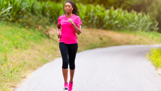 weight loss exercise jogging woman