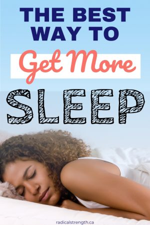 get better sleep with exercise