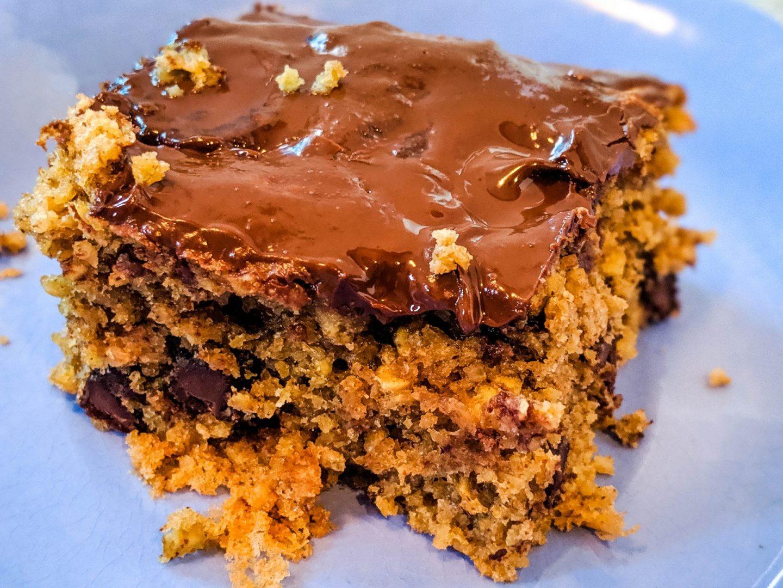 peanut butter chocolate breakfast bars