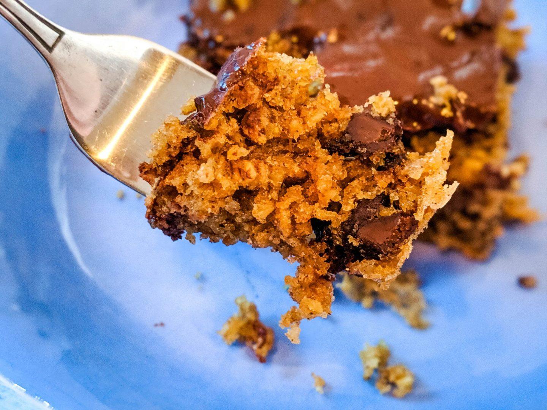 bite of peanut butter oatmeal bars