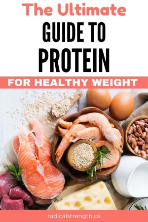 protein regime guide healthy nutrition
