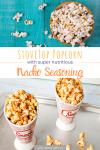 popcorn recipe pinterest graphic