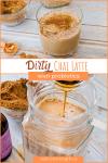 dirty chai latte pin