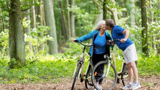 fit elderly people