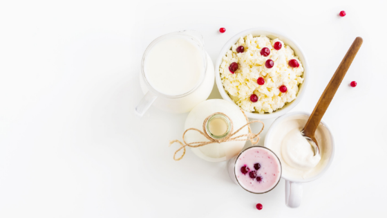 kefir grains, kefir with cranberries, kefir smoothie
