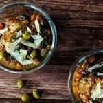 slow cooker chicken cacciatore meal prep