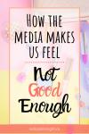 women in the media pin