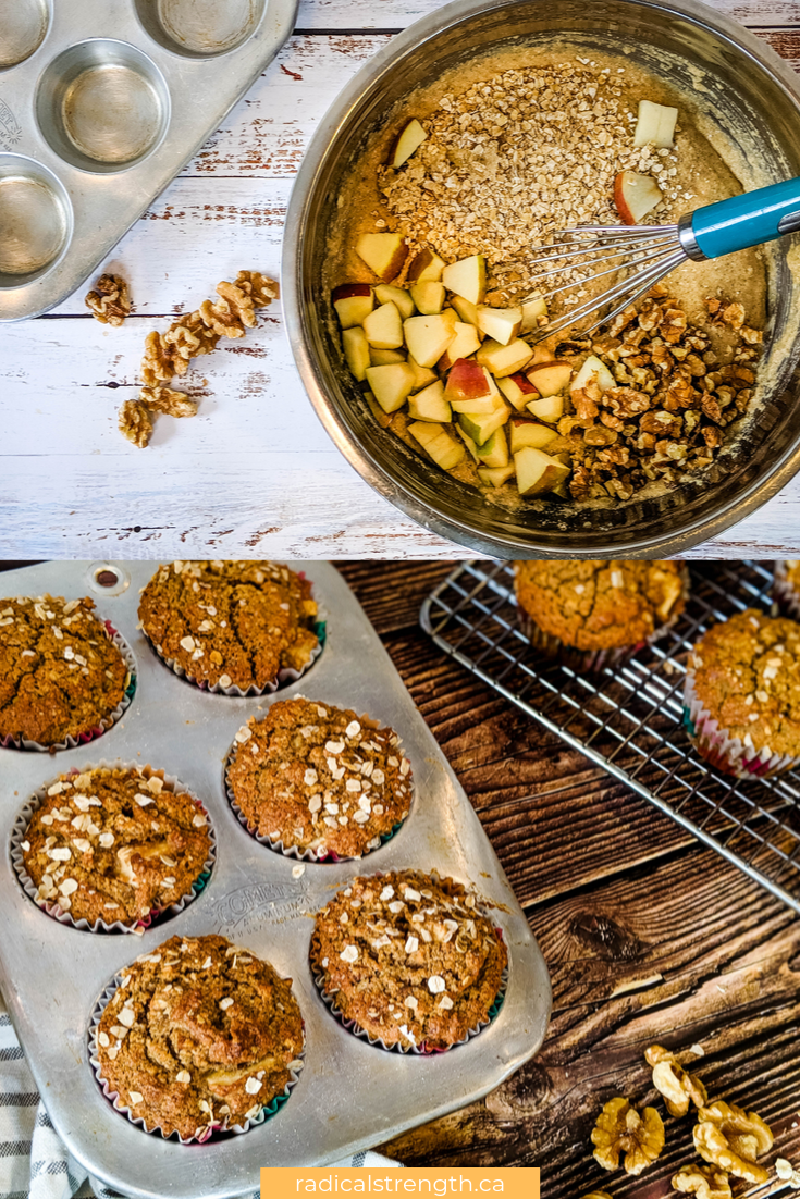 applesauce oatmeal muffins healthy