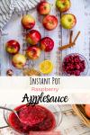 instant pot apple sauce pin