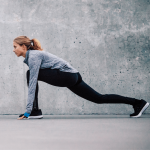 runner's lunge full body recovery