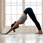 downward facing dog recovery for 30 day fitness challenge