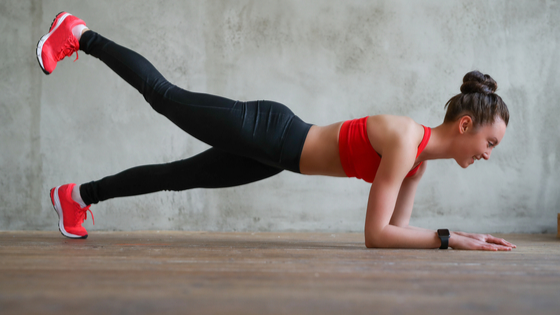 plank for 30 day fitness challenge exercise