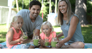 chlorophyll smoothie family