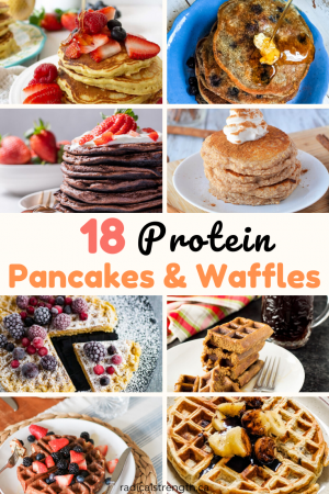 18 protein pancakes and waffles recipes
