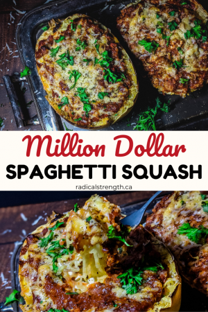 million dollar spaghetti squash pin