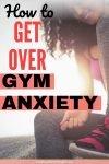 gym anxiety pin mental health
