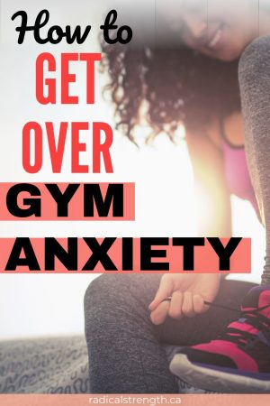 gym anxiety pin mental health