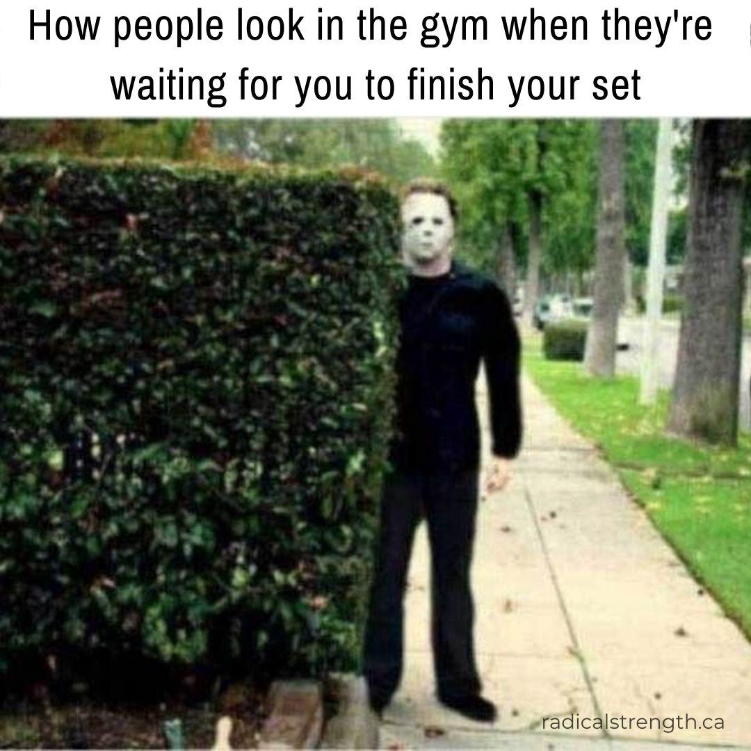 gymtimidation meme gym anxiety
