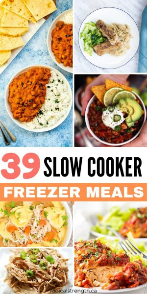 slowcooker freezer meal prep