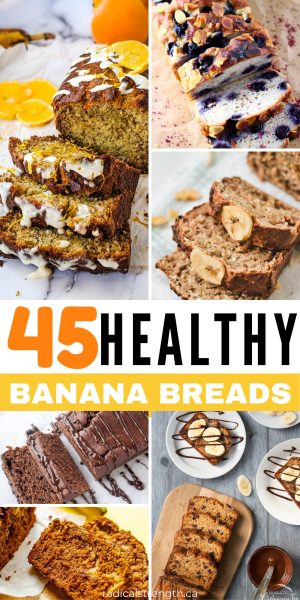 45 healthy banana breads