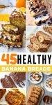 45 healthy banana breads