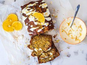 orange vanilla banana bread