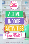 indoor activities for active kids