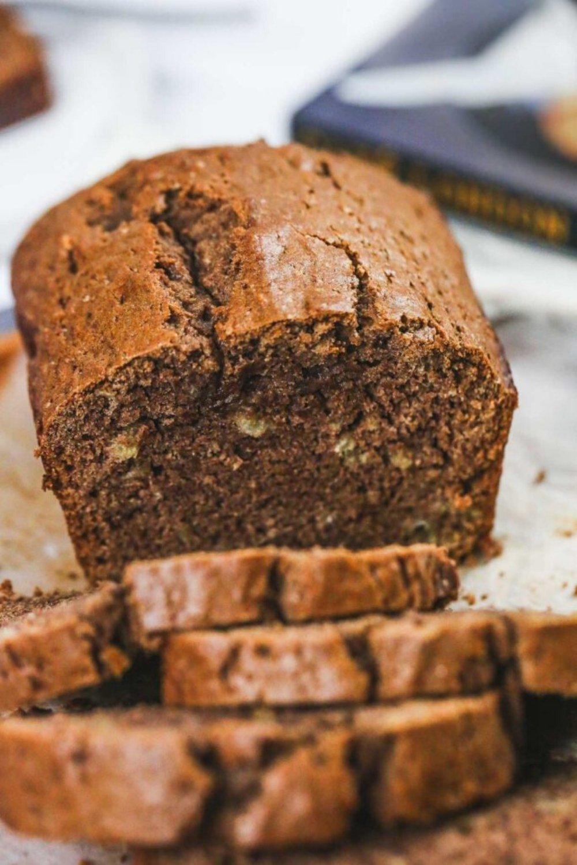 chocolate vegan healthy banana bread