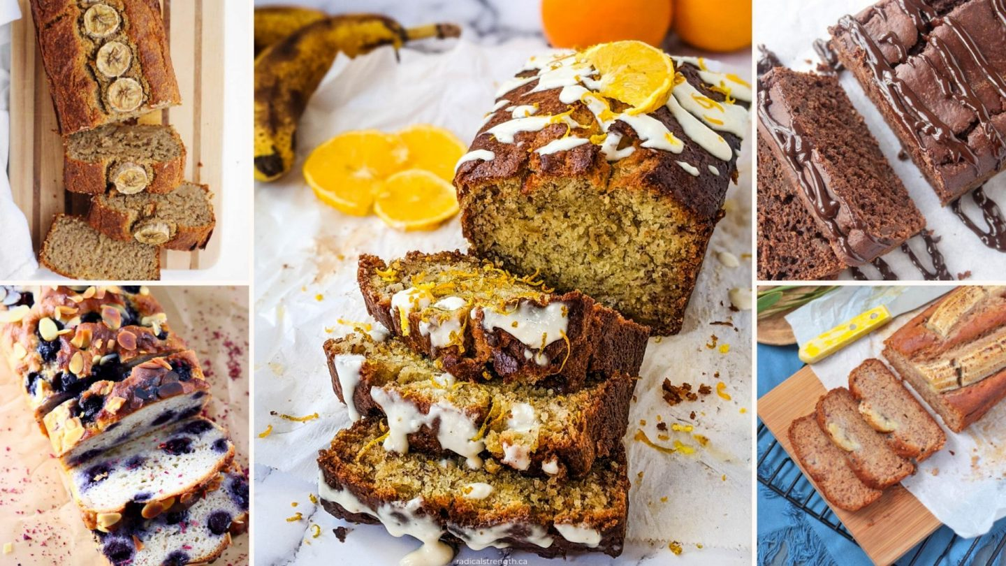 45 Healthy Banana Bread Recipes