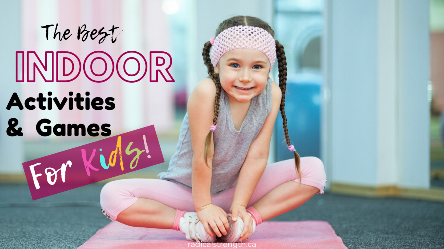 indoor activities games kids