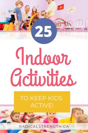 active indoor activities pin